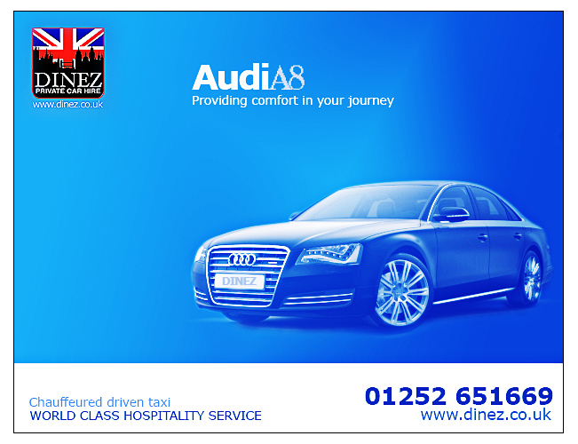 Car Hire Farnborough