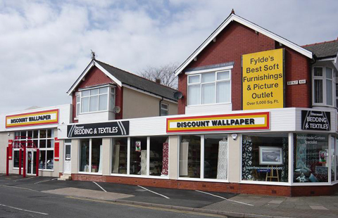 Discount wallpaper blackpool shop opening times and reviews for Bargain wallpaper