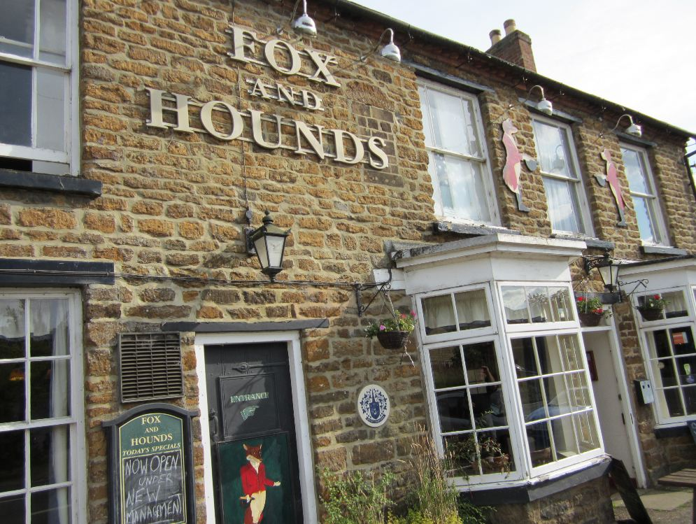 Fox and Hounds Pub in