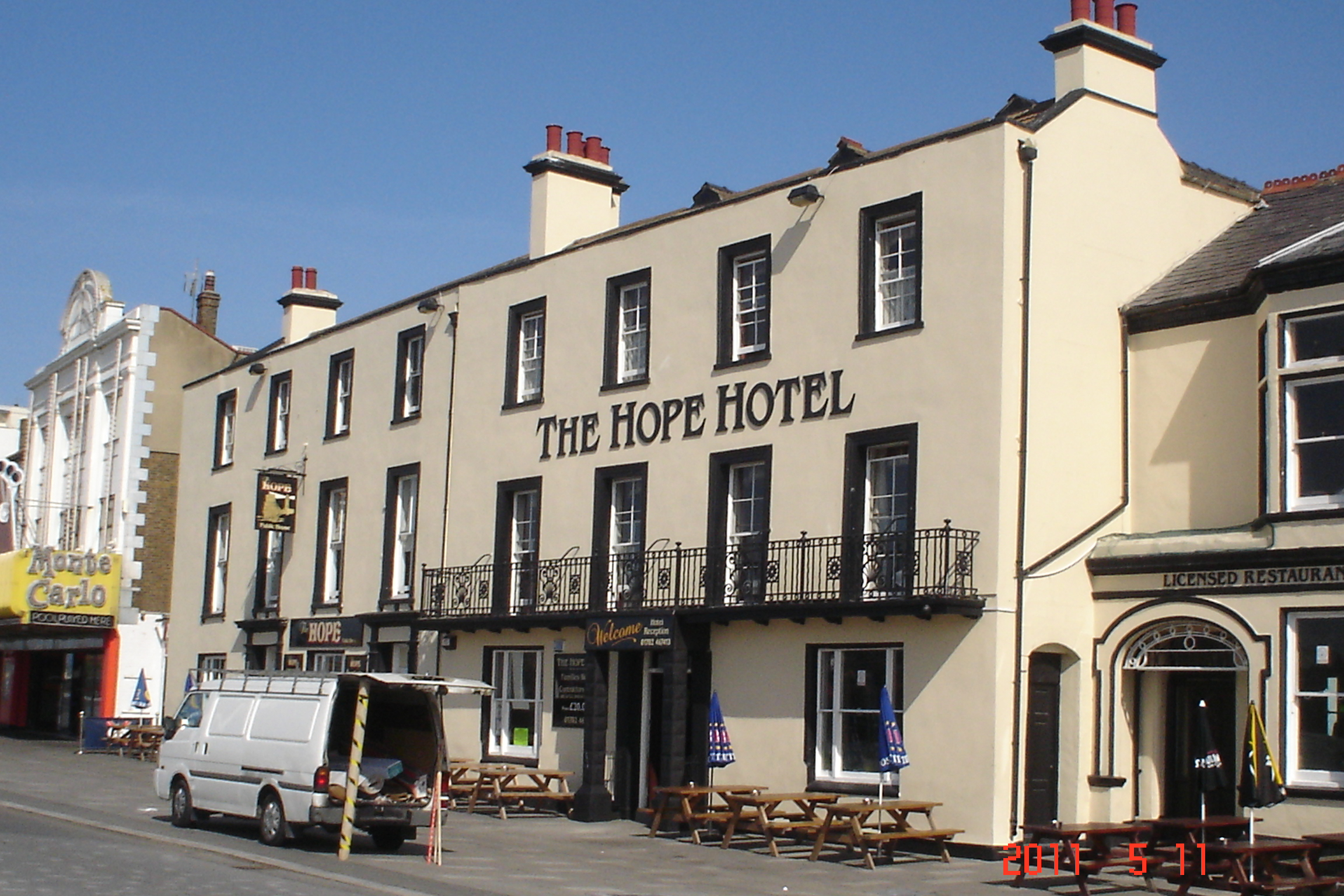 Hope Southend On Sea Hotel Opening Times And Reviews
