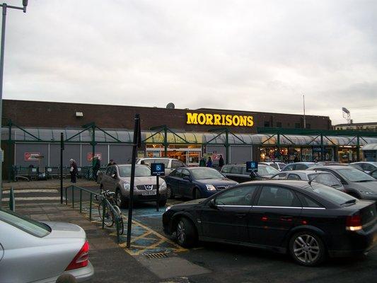 morrisons partick glasgow supermarket opening times and. Black Bedroom Furniture Sets. Home Design Ideas