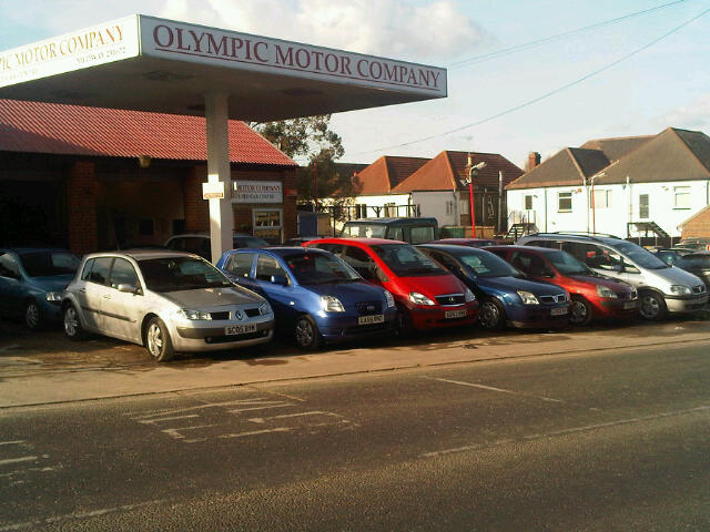olympic motor company gillingham car dealer opening times