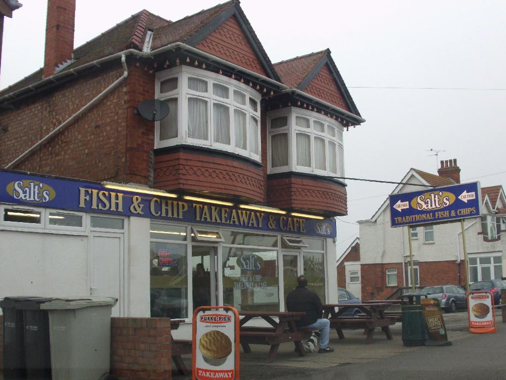 Salts fish and chip shop skegness fish and chips takeaway for The fish shop